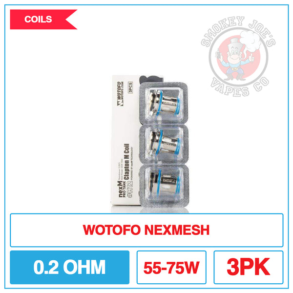 Wotofo - Nexmesh - H12 - 0.2ohm Coil| Smokey Joes Vapes Co