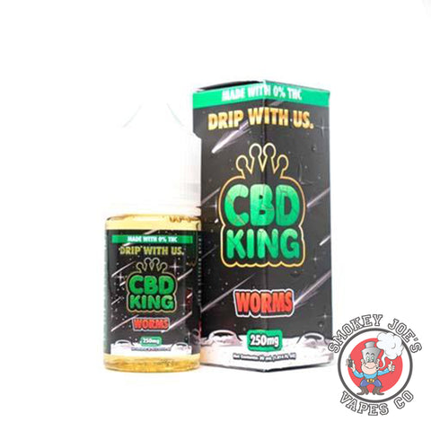 Smokey Joes Vapes Co - CBD King - Worms - 30ml - 250mg