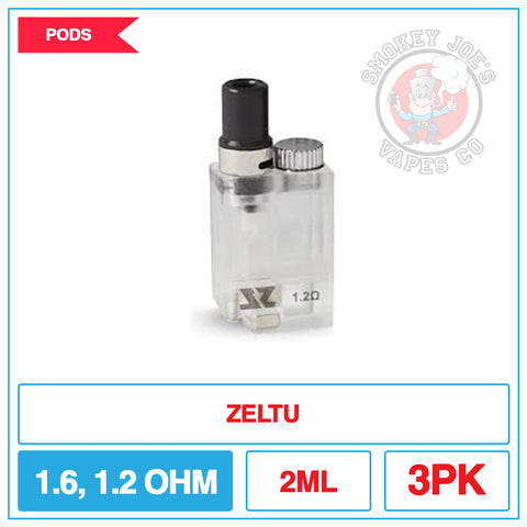 Zeltu Pod Kit - Replacement Pods | Smokey Joes Vapes Co