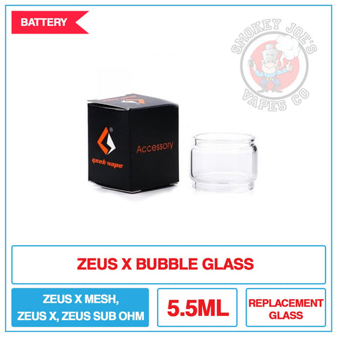 Zeus X RTA Replacement Glass