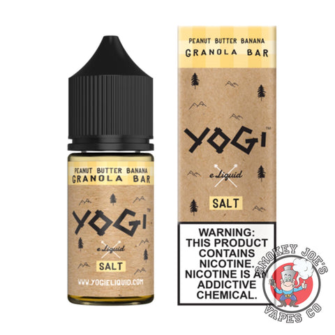 Yogi Salt - Peanut Butter Granola | Smokey Joes Vapes Co