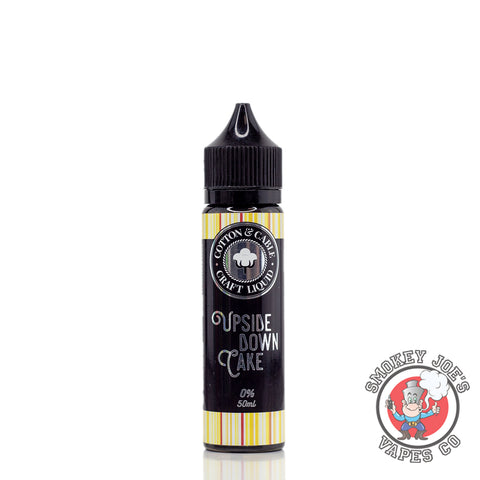 Cotton & Cable - Upside Down Cake - 50ml | Smokey Joes Vapes Co