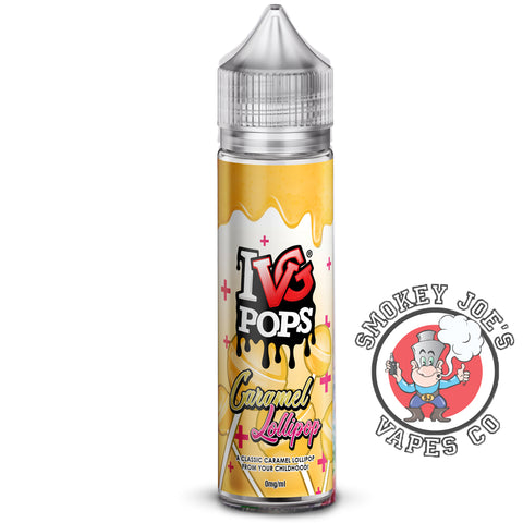 Smokey Joes Vapes Co - IVG - Caramel Lollipop