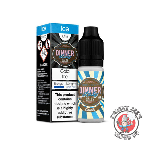 Dinner Lady Nic Salt - Cola Ice | Smokey Joes Vapes Co