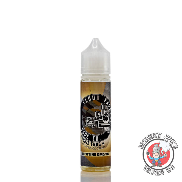Cloud Express - Cookie Chug - 50ml - Front Of Bottle | Smokey Joes Vapes Co