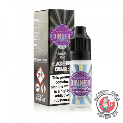 Dinner Lady Nic Salt - Blackberry - Smokey Joes Vapes Co