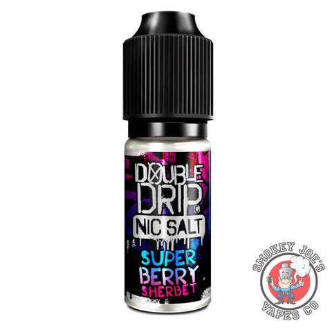 Double Drip - Super Berry Sherbet - Nic Salt | Smokey Joes Vapes Co