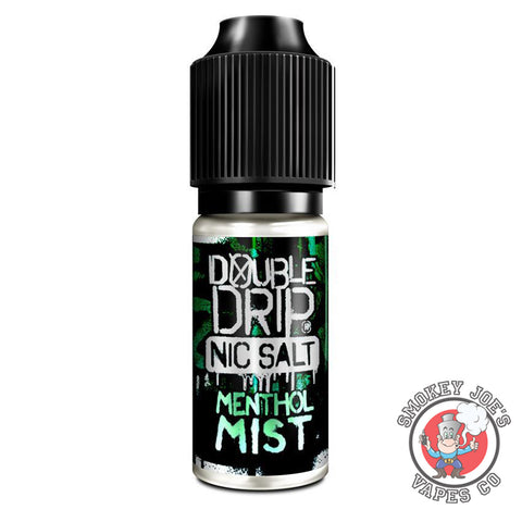 Double Drip - Menthol Mist - Nic Salt | Smokey Joes Vapes Co