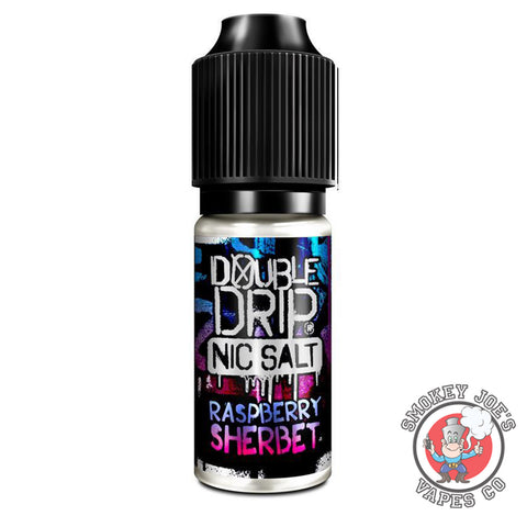 Smoket Joes Vapes Co - Double Drip - Raspberry Sherbet - Nic Salt