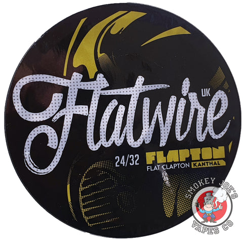 Flapton Flatwire 10ft Kanthal | Smokey Joes Vapes Co