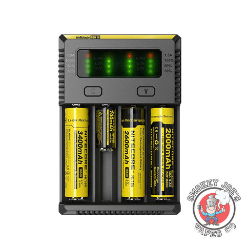 Nitecore I4 Charger | Smokey Joes Vapes Co