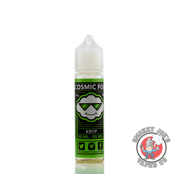 Cosmic Fog - Kryp - 50ml - 0mg - Front Of Bottle | Smokey Joes Vapes Co