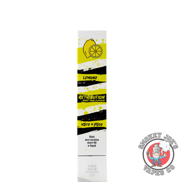 Retribution - Lemon - 50ml | Smokey Joes Vapes Co