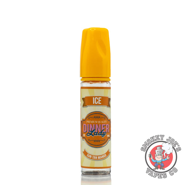 Dinner Lady - Sun Tan Mango - 50ml - Front Of Bottle | Smokey Joes Vapes Co