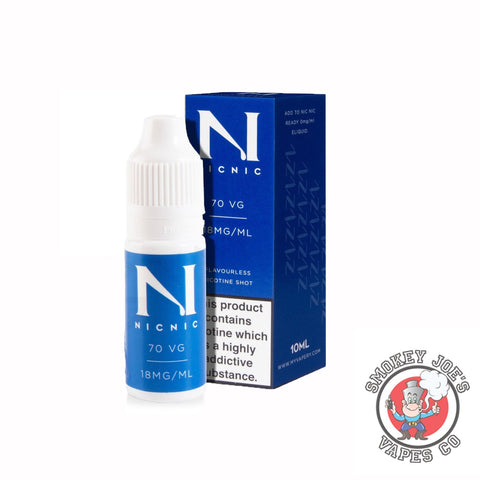 Nic Nic 18Mg - Nic Shot | Smokey Joes Vapes Co