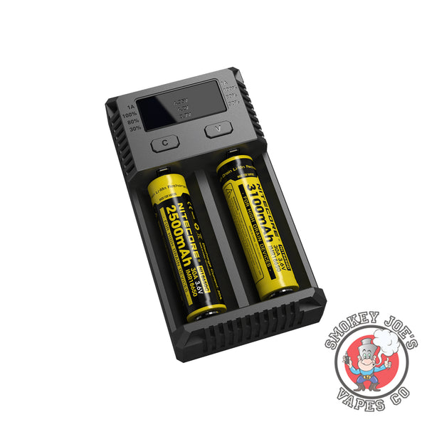 Nitecore I2 Battery Charger | Smokey Joes Vapes Co