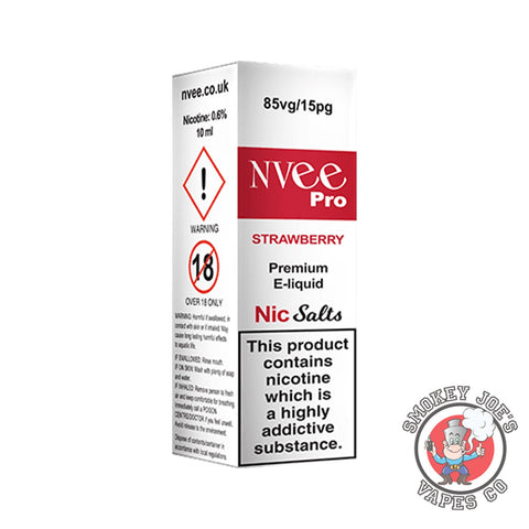 Nvee - Nic Salt - Strawberry - 9mg, 12mg & 18mg | Smokey Joes Vapes Co