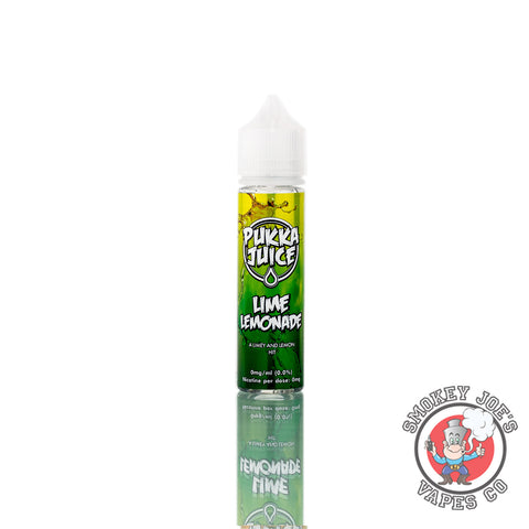 Pukka Juice - Lime Lemonade - 50ml | Smokey Joes Vapes Co