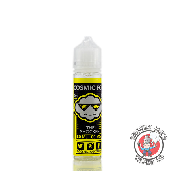 Cosmic Fog - The Shocker - 50ml - 0mg - Front Of Bottle | Smokey Joes Vapes Co