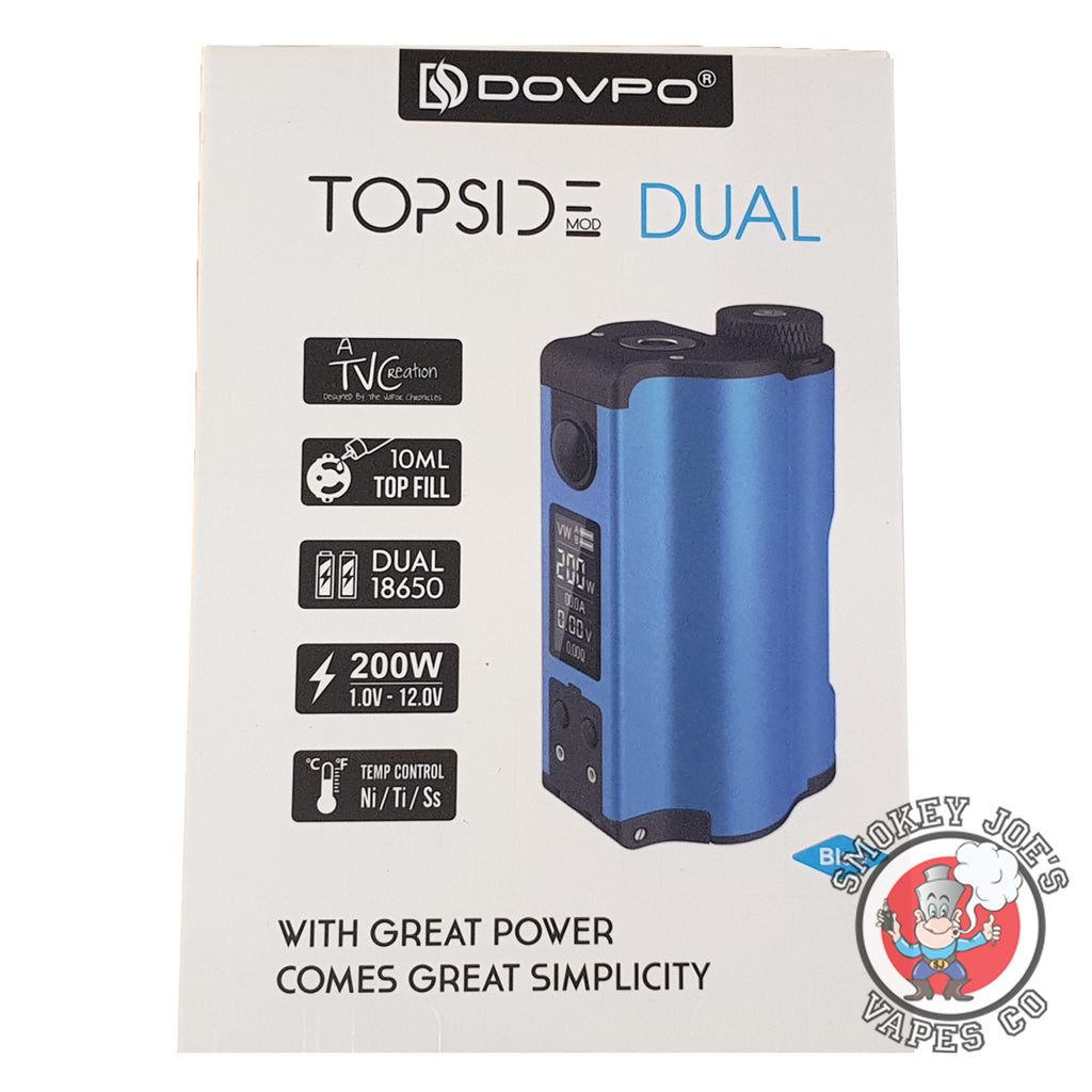 Dovpo Topside Dual - Box Front | Smokey Joes Vapes Co