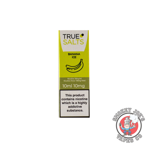 True Salts - Banana Ice - Nic Salt | Smokey Joes Vapes Co