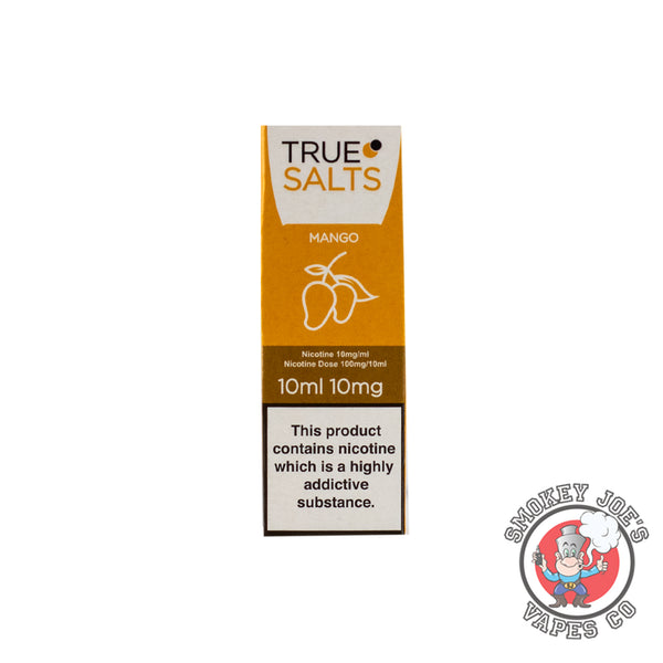 True Salts - Mango - Nic Salt | Smokey Joes Vapes Co