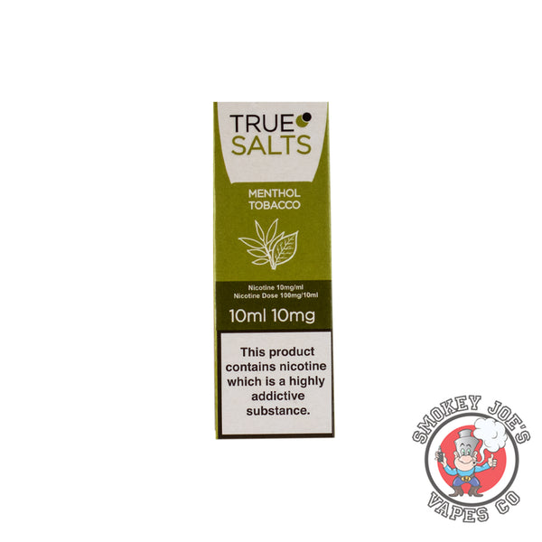 True Salts - Menthol Tobacco - Nic Salt | Smokey Joes Vapes Co
