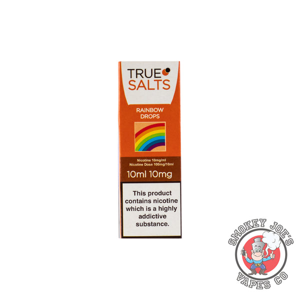 True Salts - Rainbow Drops - Nic Salts | Smokey Joes Vapes Co