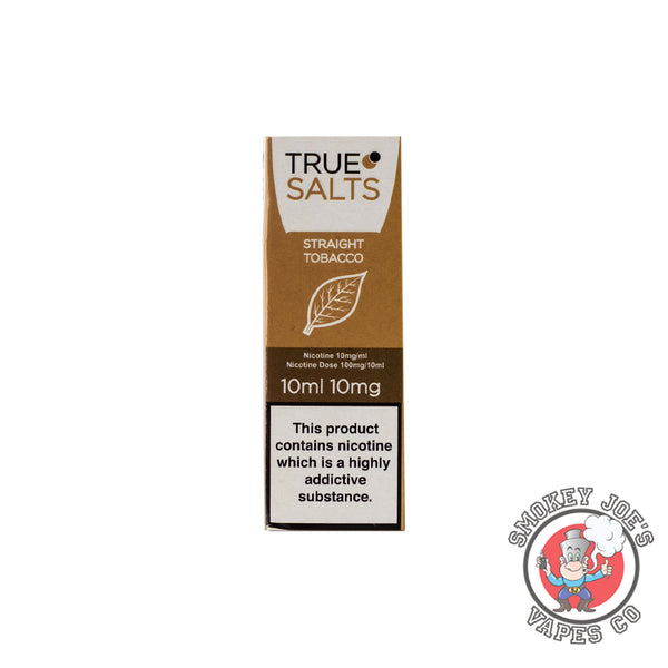 True Salts - Straight Tobacco - Nic Salt | Smokey Joes Vapes Co