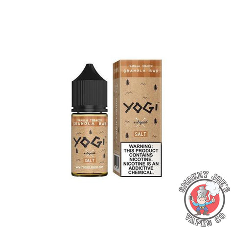 Salt- Vanilla Tobacco Granola | Smokey Joes Vapes Co