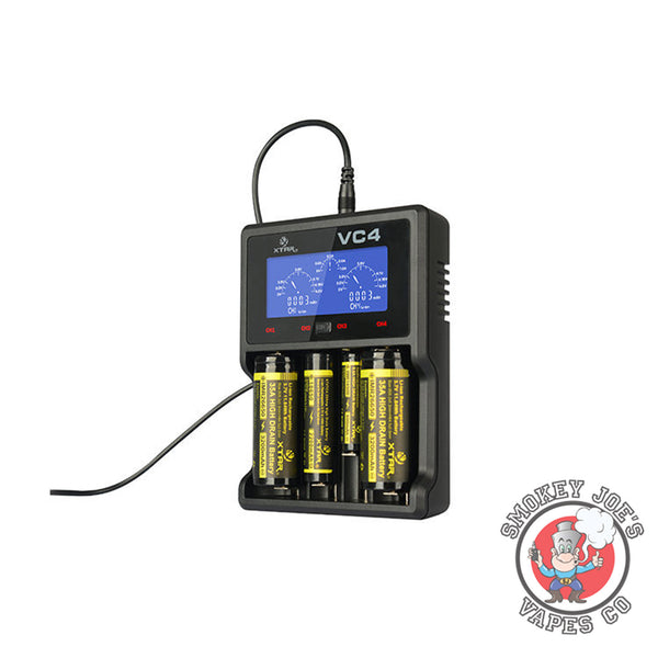 XTAR - VC4 Plus Battery Charger (Quad)| Smokey Joes Vapes Co