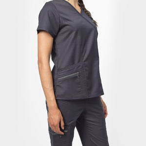 Ergo Mock Wrap Top
