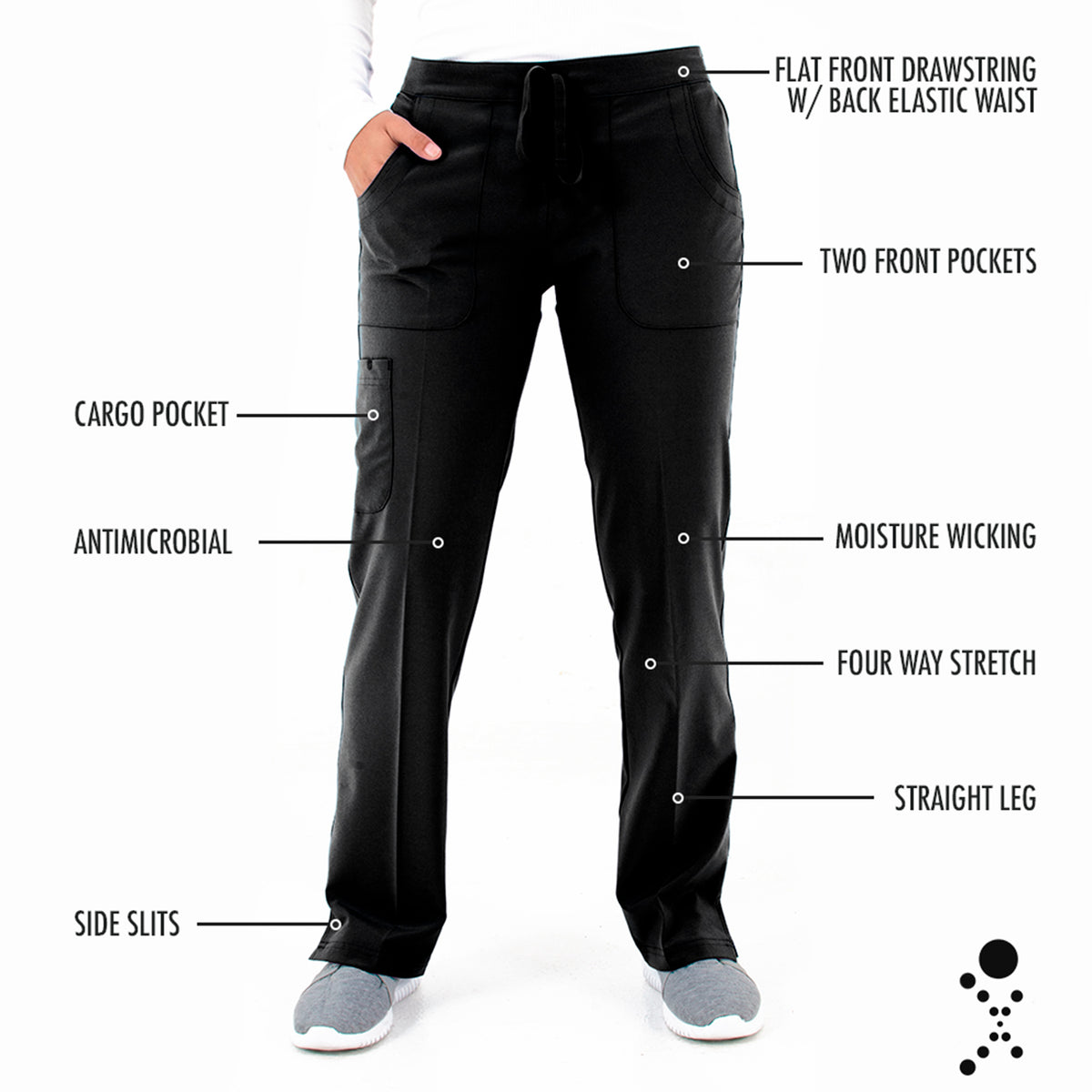 Women's Contego Active Straight Leg Cargo Pant - Tall