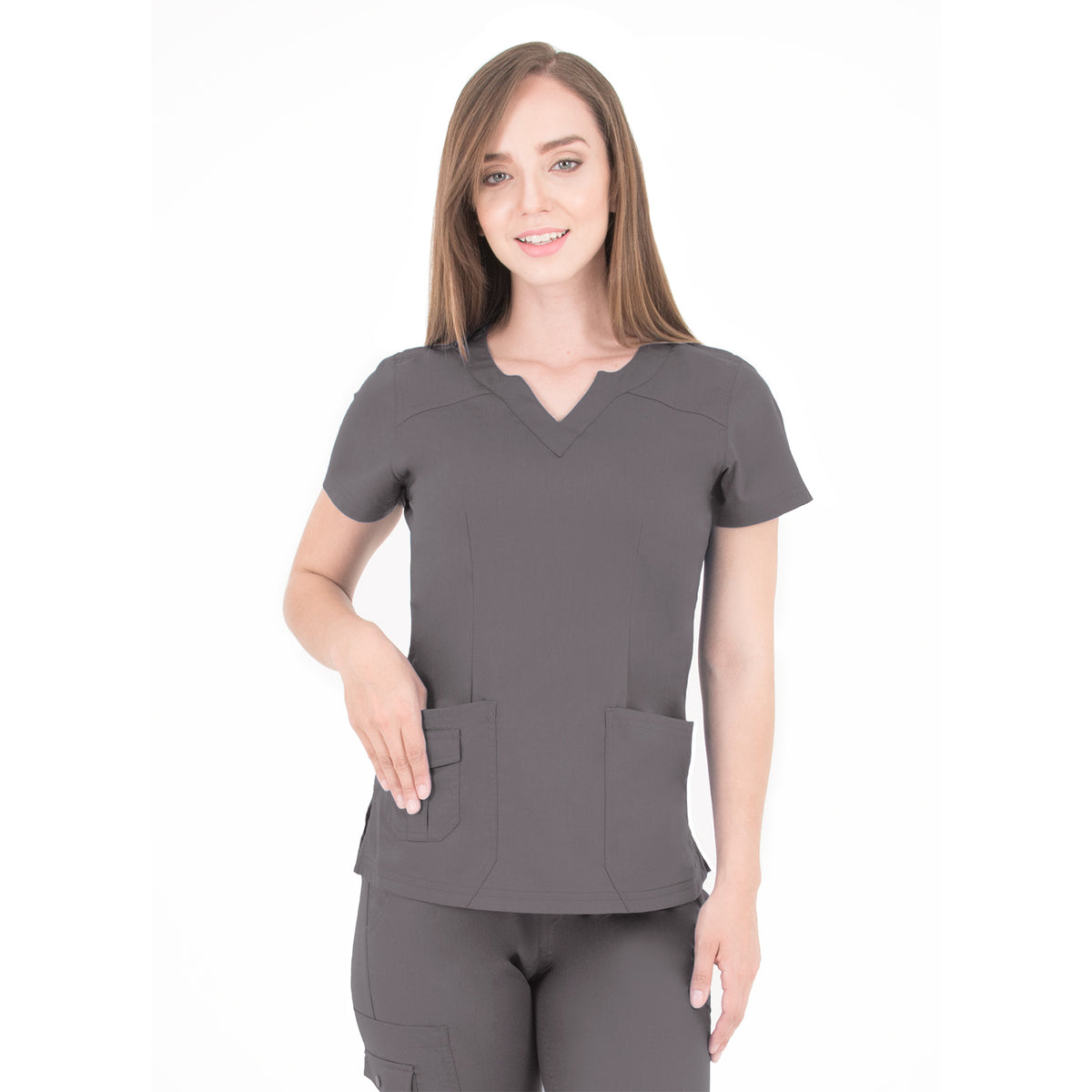 Women's Ergo 2.0 Scallop Neckline Top