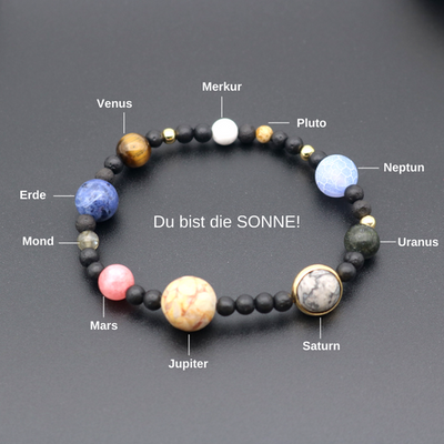 Sonnensystem Armband mit Pluto for €30.00