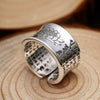 Sutra Lotusring aus 999 Sterlingsilber for €45.00