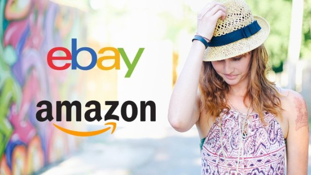 eBay's point of difference over Amazon