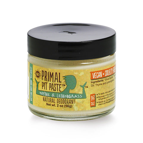 Pit Paste lemongrass deodorant