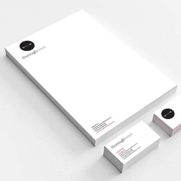 Thoroughbread stationary