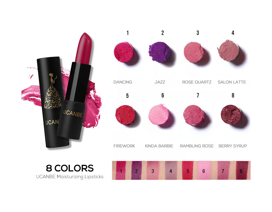 Soft Lipstick Smooth Moisturizing 8 Colors 08