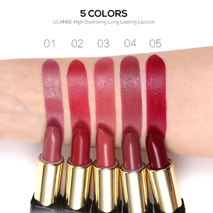 Lip Stick Smooth Moisturizer Lipsticks 5 Colors