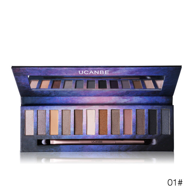 Shiny Star Series 12 Colors Eyeshadow Palette 01