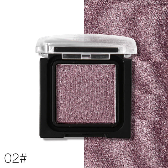 Shimmer Matte Single Eyeshadow Makeup Palette 02