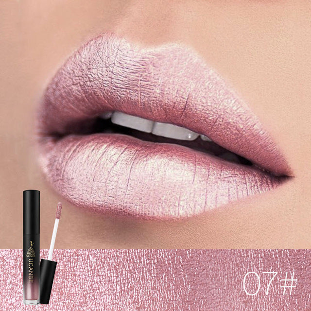 Lip Gloss Makeup Shiny Matte 8 Colors