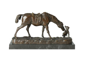 TPAL-147 horse bronze sculpture