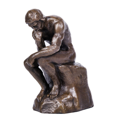 Thinker Bronze Sculpture Rodin Famous Art Statues TPE-185B