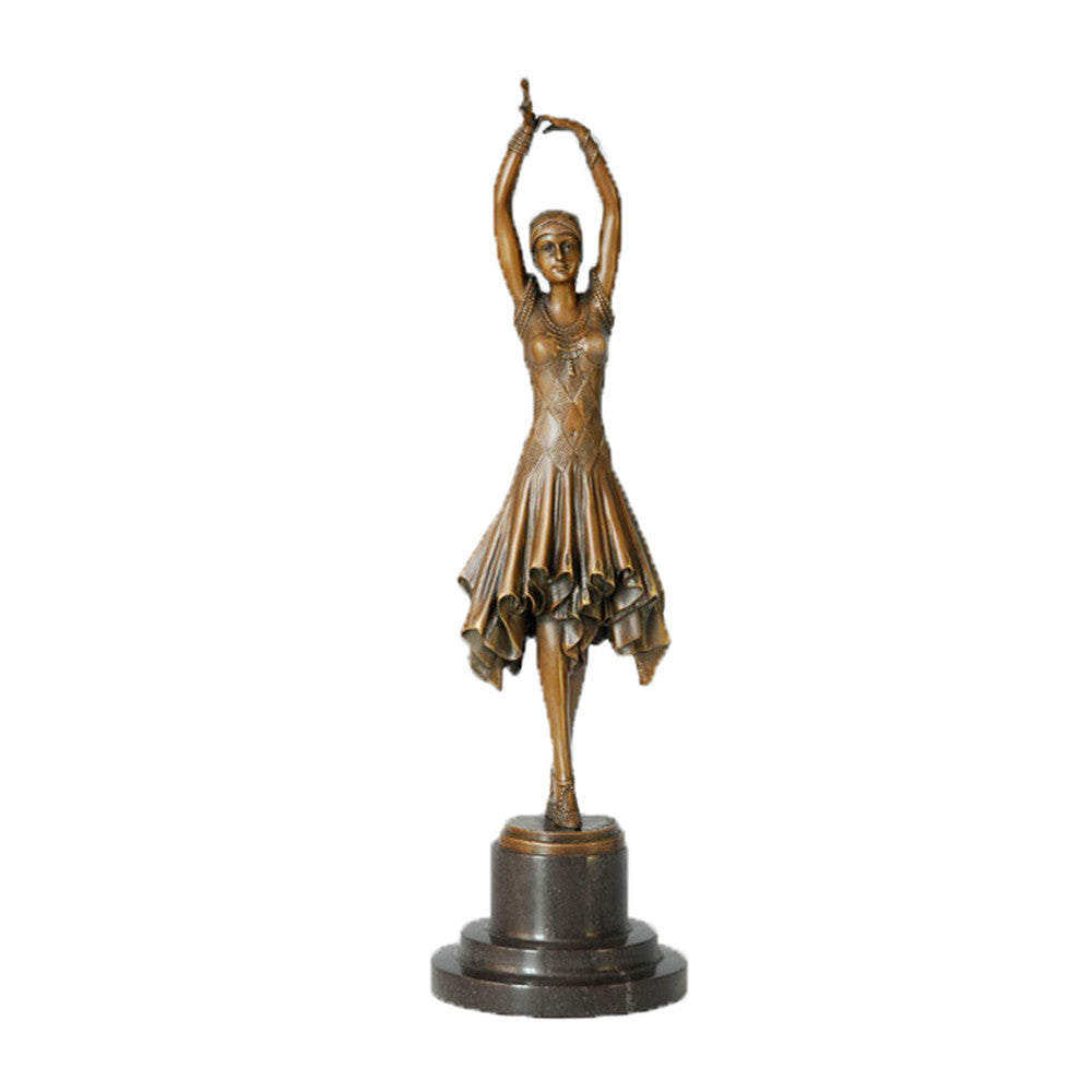 TPE-360 art bronze sculpture
