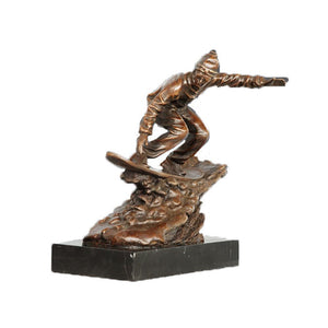 TPE-788 bronze sculpture