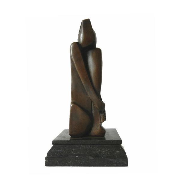 Abstract Female Figure Art Decor Lady Craft Bronze Sculpture TPY-147