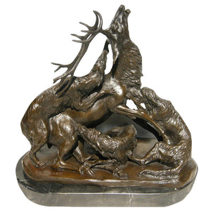 TPY-317 bronze sculpture
